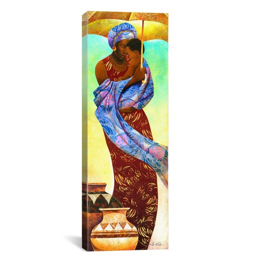 """iCanvas """"Siku, Day"""" by Keith Mallett Painting Print on Canvas"""