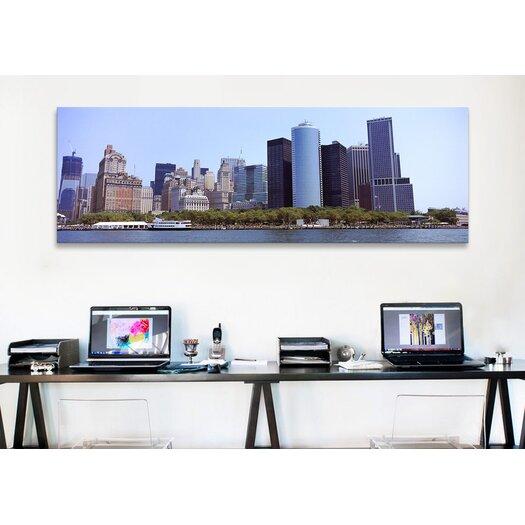iCanvas Panoramic 'Lower Manhattan, Manhattan, New York City, 2011' Photographic Print on Canvas