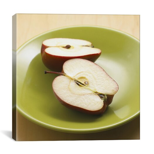 iCanvas Sliced Apples Photographic Canvas Wall Art