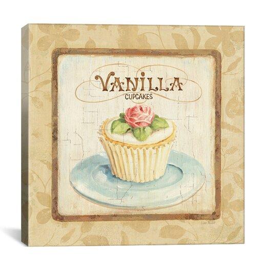 "iCanvas ""Sweet Cupcakes (Vanilla)"" Canvas Wall Art by Lisa Audit"