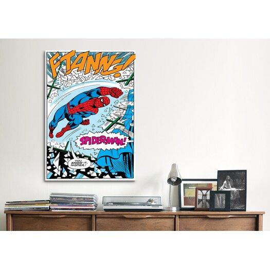 iCanvas Marvel Comics Spider-Man Panel B Graphic Art on Canvas