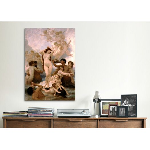 iCanvas 'The Birth of Venus' by William-Adolphe Bouguereau Painting Print on Canvas