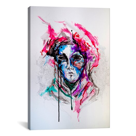 iCanvas 'Masq' by Marc Allante Painting Print on Wrapped Canvas