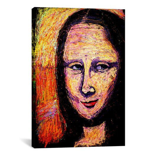 iCanvas Mona 002 by Rock Demarco Painting Print on Wrapped Canvas