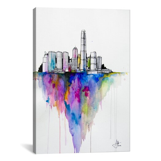 "iCanvas ""Monolith II"" by Marc Allante Graphic Art on Canvas"