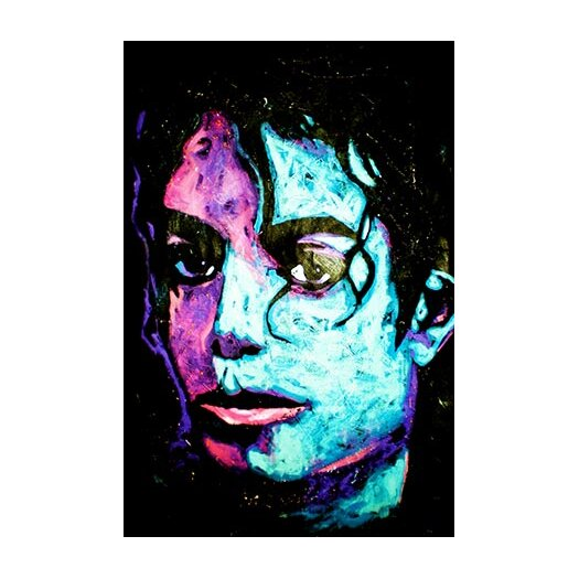 iCanvas Michael Jackson 001 Canvas Wall Art by Rock Demarco
