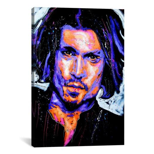 iCanvas Depp Art 001 Canvas Print Wall Art