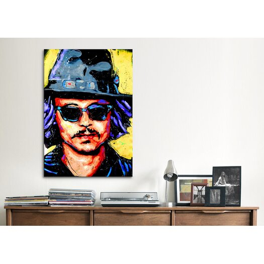 iCanvas Depp Art 002 Canvas Print Wall Art
