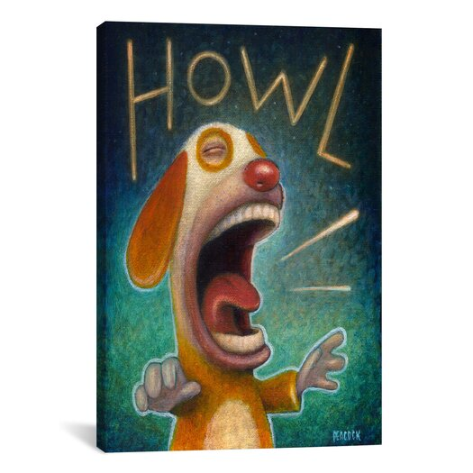 iCanvas 'Howl' by Daniel Peacock Painting Print on Canvas