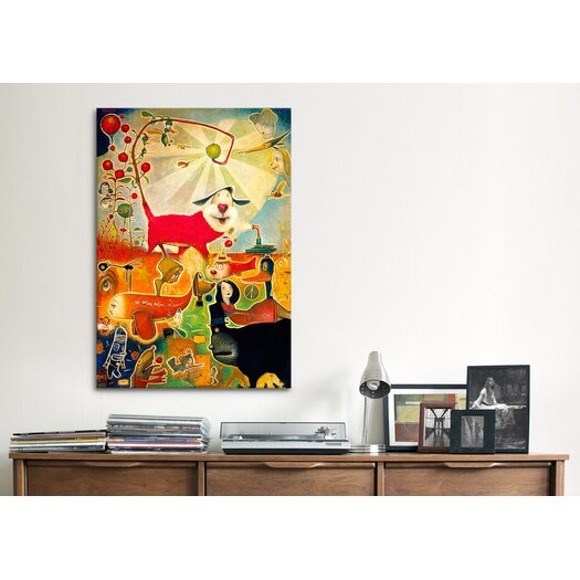 iCanvas 'Apple Vine' by Daniel Peacock Painting Print on Canvas