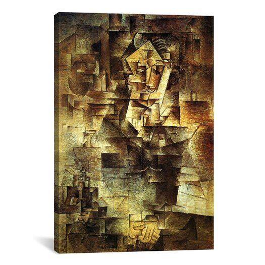 iCanvas Picasso Portrait Of Daniel-Henry Kahnweiler Canvas Print Wall Art