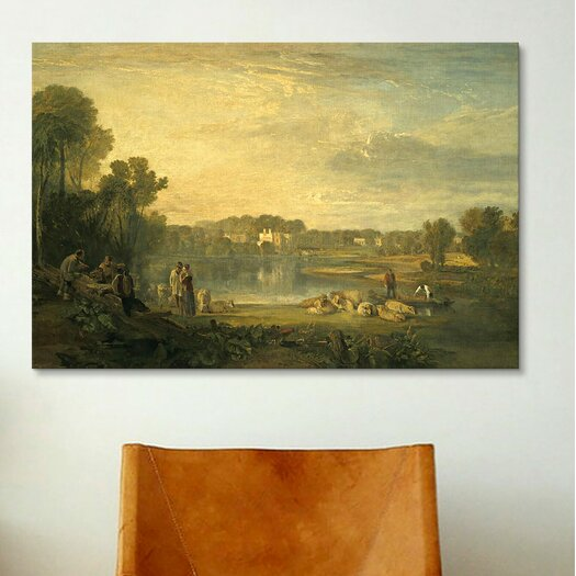 iCanvas 'Pope's Villa at Twickenham' by Jospeh William Turner Painting Print on Canvas
