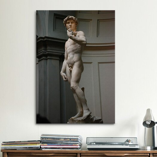 iCanvas 'David' by Michelangelo Photographic Print on Canvas