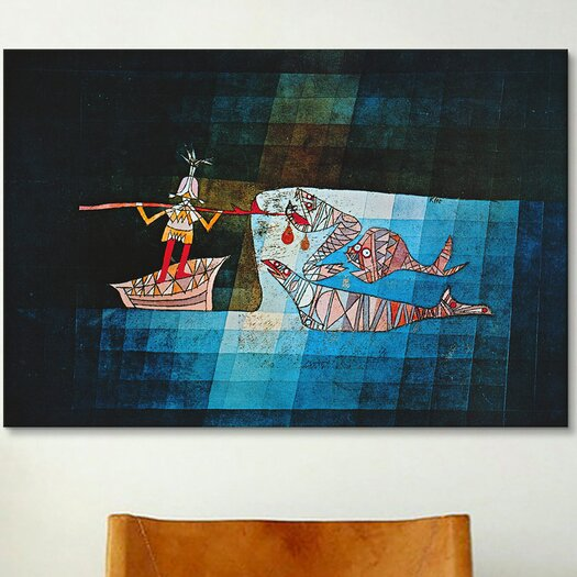 iCanvas 'Sinbad the Sailor' by Paul Klee Painting Print on Canvas