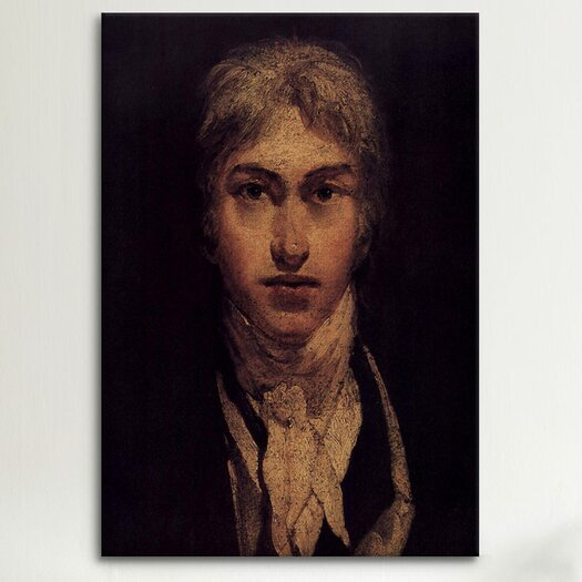 iCanvas 'Self Portrait 1799' by Joseph William Turner Painting Print on Canvas