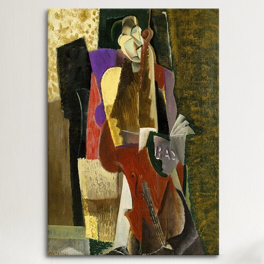 iCanvas Fine Art 'The Cellist' by Max Weber Painting Print on Canvas