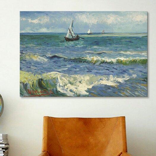 iCanvas 'Seascape Near Les Saintes Maries De La Mer' by Vincent Van Gogh Painting Print on Canvas