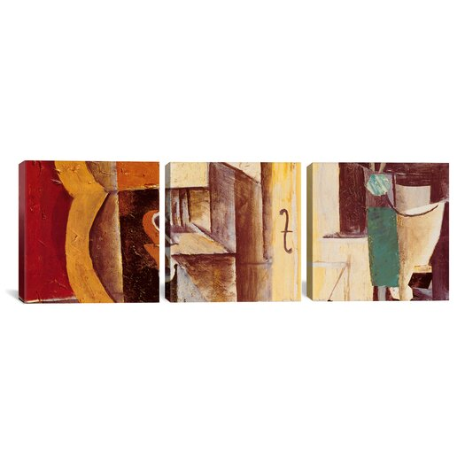 iCanvas Pablo Picasso Violin and Guitar 3 Piece on Wrapped Canvas Set