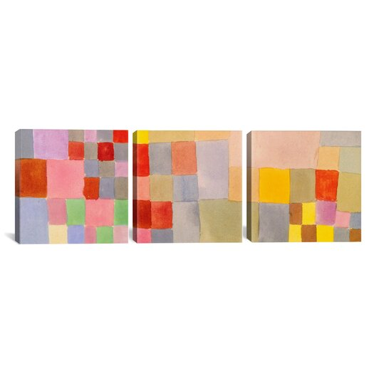 iCanvas Paul Klee Flora on The Sand 3 Piece on Wrapped Canvas Set