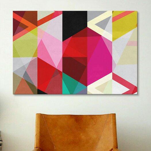 iCanvas Modern Art View Through a Kaleidoscope Graphic Art on Canvas