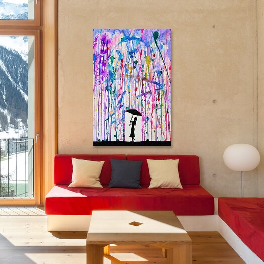 iCanvas 'Deluge' by Marc Allante Painting Print on Wrapped Canvas