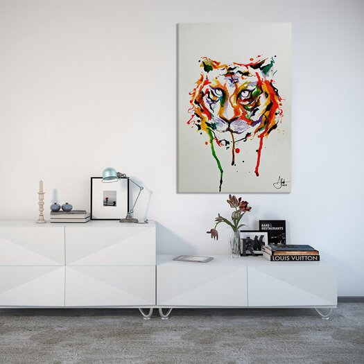 iCanvas 'Demeter' by Marc Allante Graphic Art on Canvas