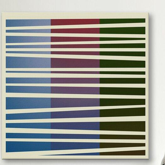 iCanvas Modern Art Dusk Concept (After Caporel) Graphic Art on Canvas