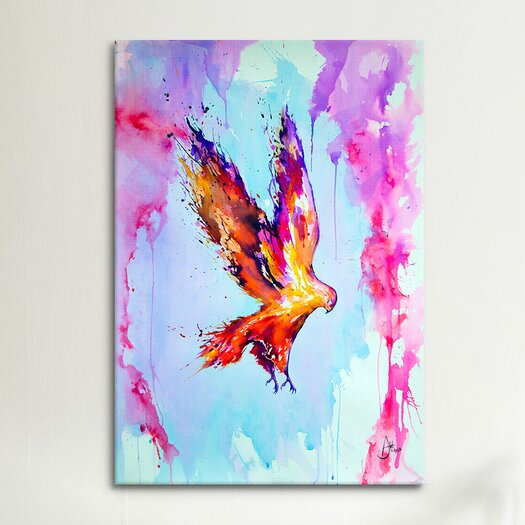 iCanvas Hyperion (1) by Marc Allante Painting Print on Wrapped Canvas