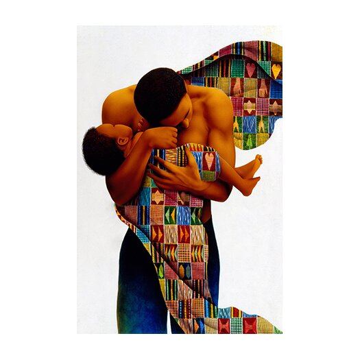 """iCanvas """"Sheltering Love"""" Canvas Wall Art by Keith Mallett"""