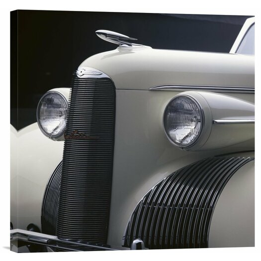 Bentley Global Arts 'Detail of 1939 La Salle Convertible' by Peter Harholdt Photographic Print on Canvas