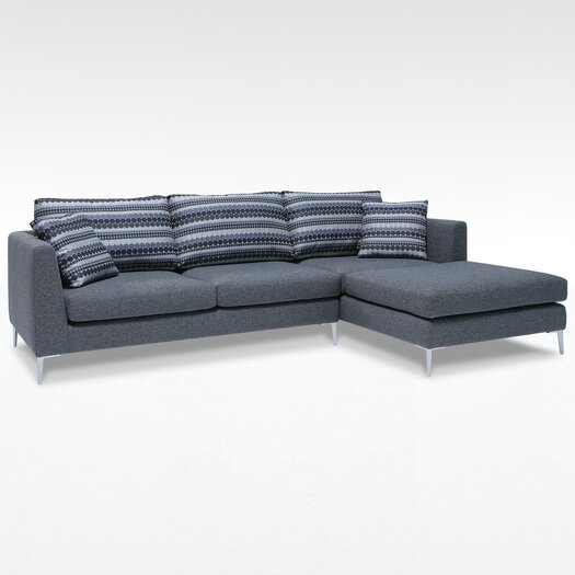 James Right Facing Sectional