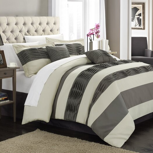 Chic Home Park Lane 10 Piece Bed in a Bag Set