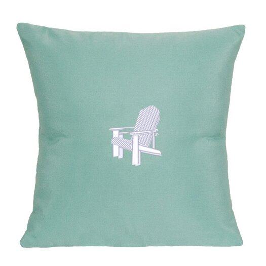 Nantucket Bound Adirondack Indoor/Outdoor Sunbrella Throw Pillow