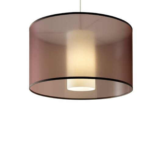 Tech Lighting Dillon 2-Circuit 1 Light Drum Pendant
