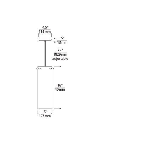 Tech Lighting Beacon 2-Circuit 1 Light Mini Pendant