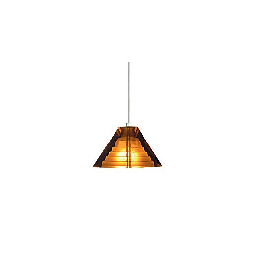 Tech Lighting Pyramid 1 Light Mini Pendant
