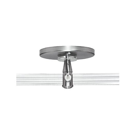 """Tech Lighting Two Circuit MonoRail 4"""" Round Single Feed Power Feed Canopy"""