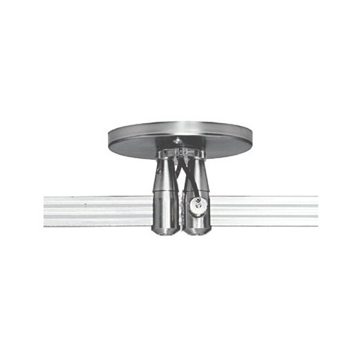 """Tech Lighting Two Circuit MonoRail 4"""" Round Dual Feed Power Feed Canopy"""