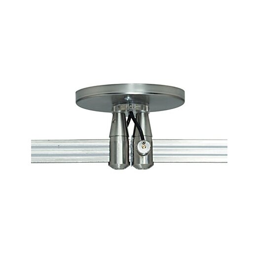 Tech Lighting MonoRail Round Dual Power Feed Canopy