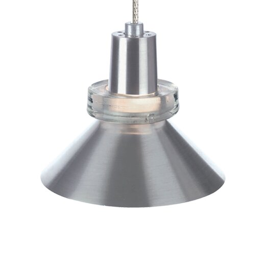 Tech Lighting Hanging Wok 1 Light Monorail Pendant