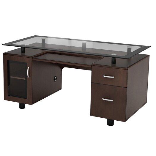 Z Line Designs Arria Executive Desk Allmodern