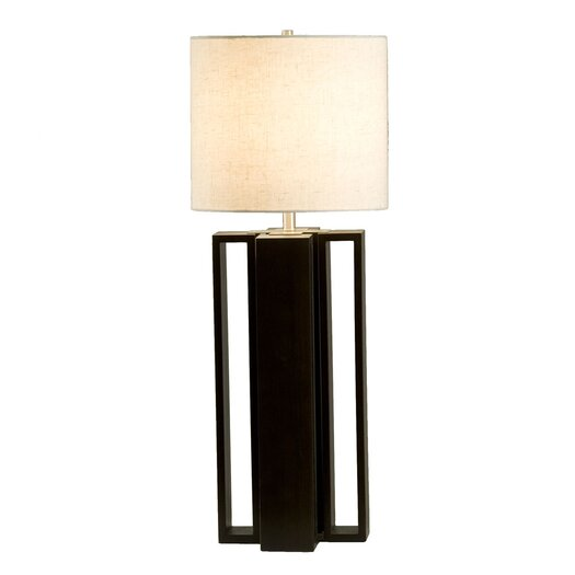 "Nova Hagen 31"" H Table Lamp with Drum Shade"