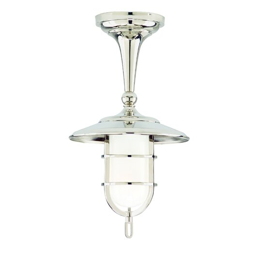 Hudson Valley Lighting Rockford 1 Light Semi Flush Mount
