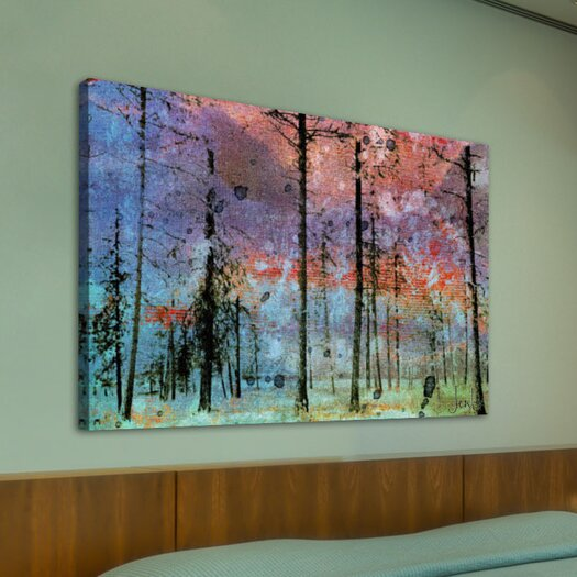 Jen Lee Art Lost in the Forest Graphic Art on Wrapped Canvas
