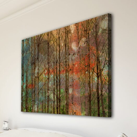 Jen Lee Art Through the Trees Wrapped Canvas Art
