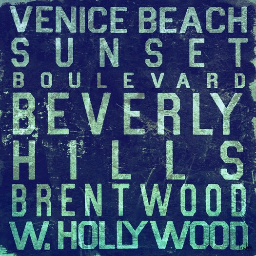 Jen Lee Art Beverly Hills Textual Art on Wrapped Canvas