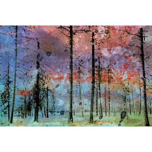 Lost in the Forest Graphic Art on Wrapped Canvas