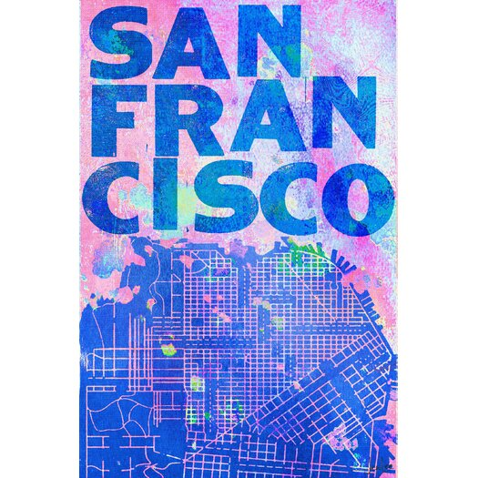 San Francisco Wrapped Canvas Art