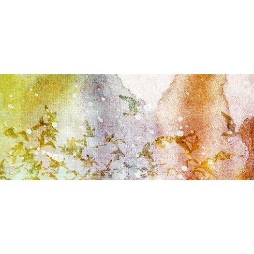 Jen Lee Art En Route Painting Print on Wrapped Canvas