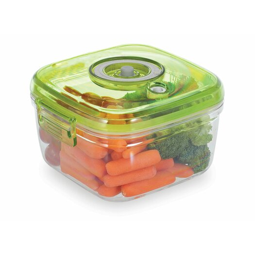 Vacucraft 1.5 Qt. Vacuum Storage Container with Pump